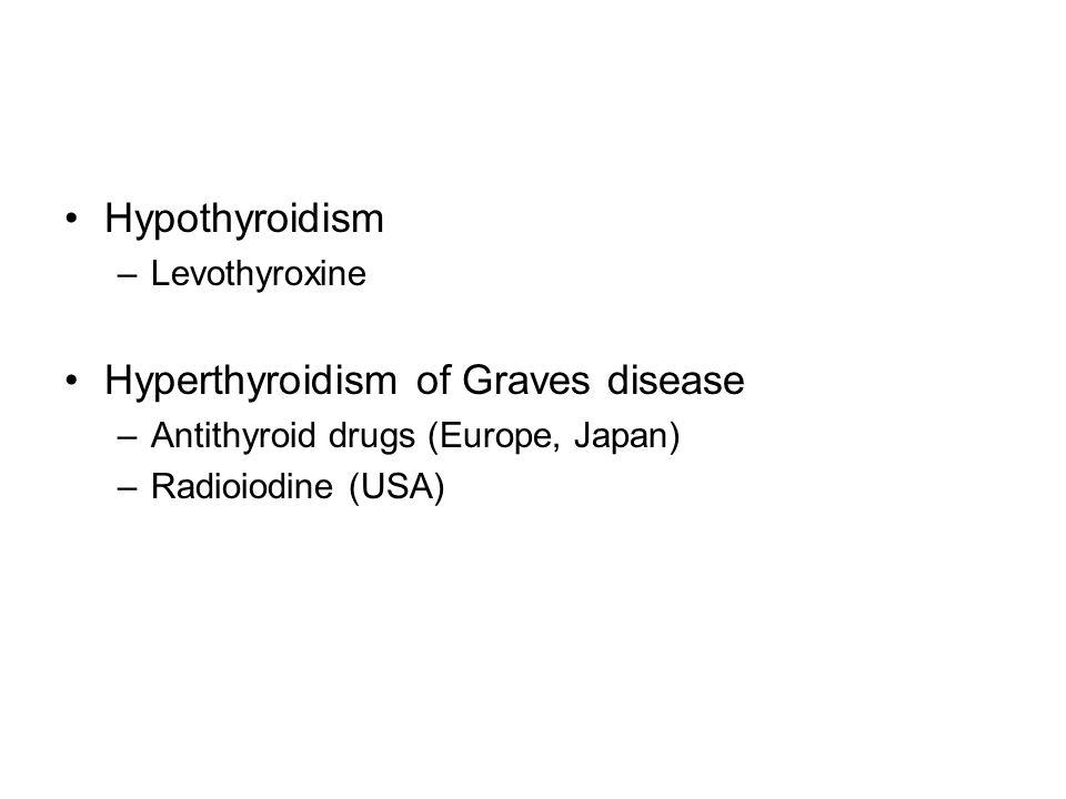 Hyperthyroidism of Graves disease