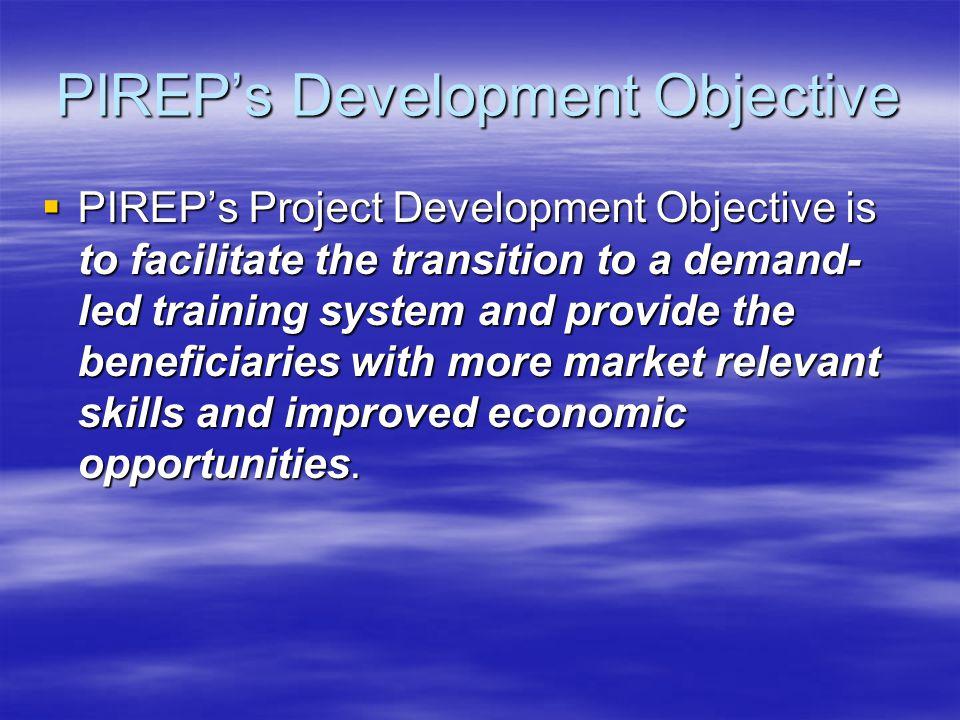 PIREP's Development Objective