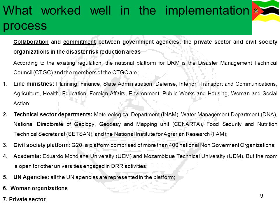 What worked well in the implementation process