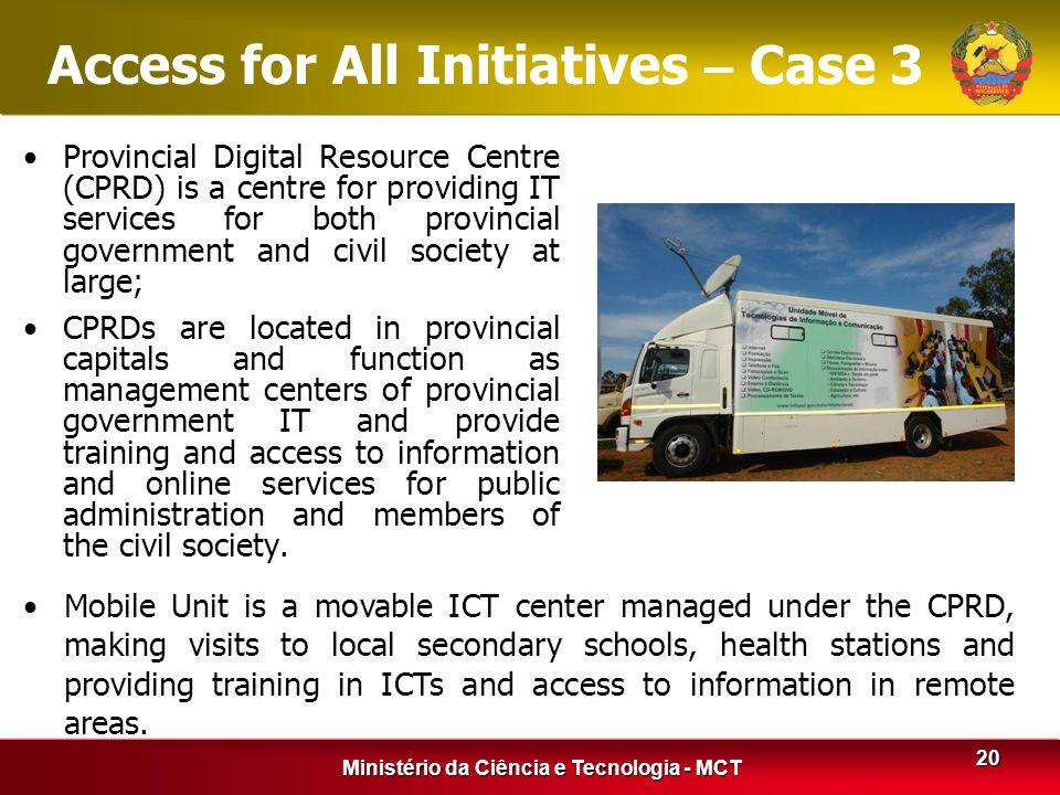 Access for All Initiatives – Case 3