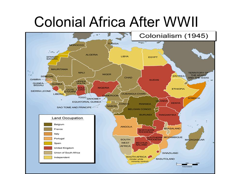Colonial Africa After WWII
