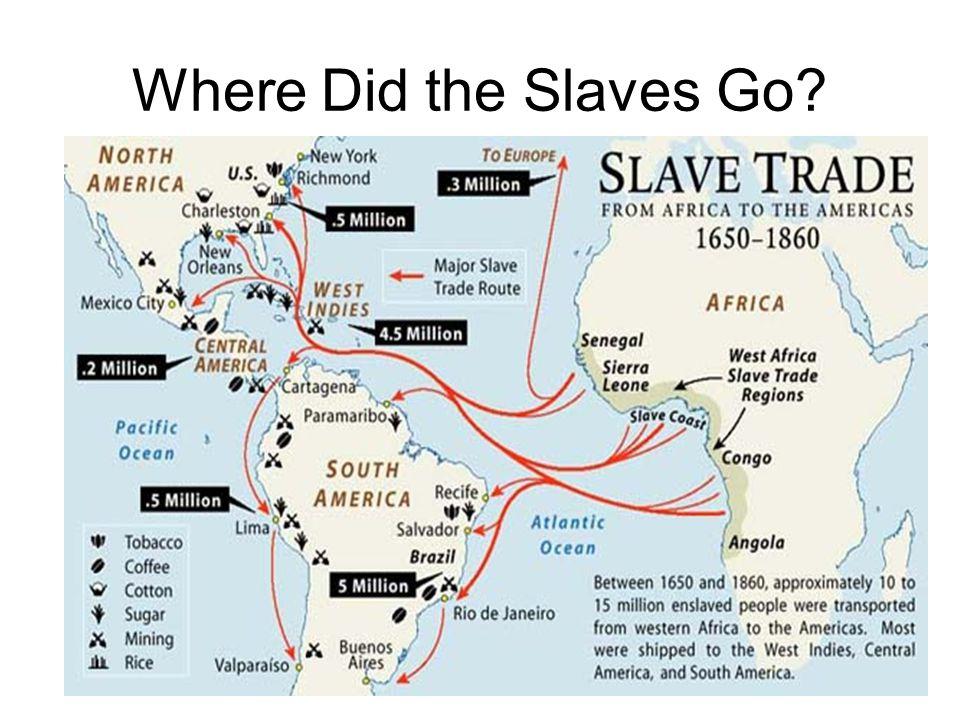 Where Did the Slaves Go