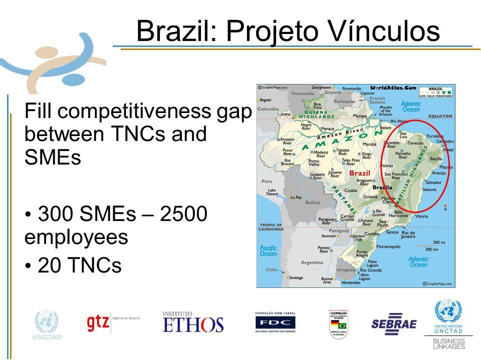 Brazil: Projeto Vínculos