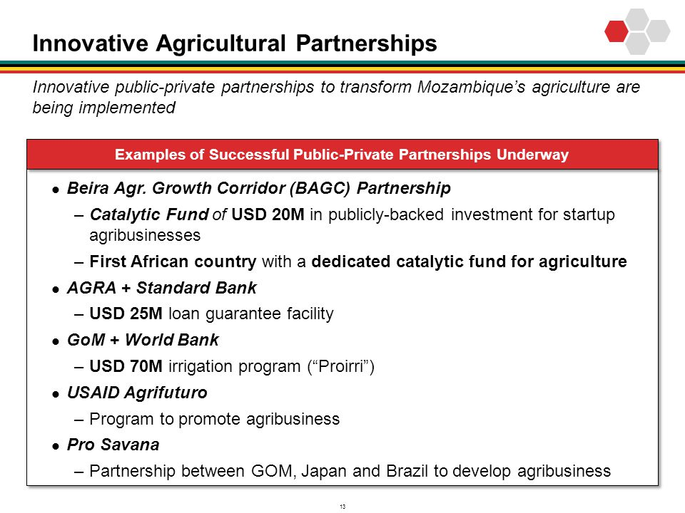 Innovative Agricultural Partnerships