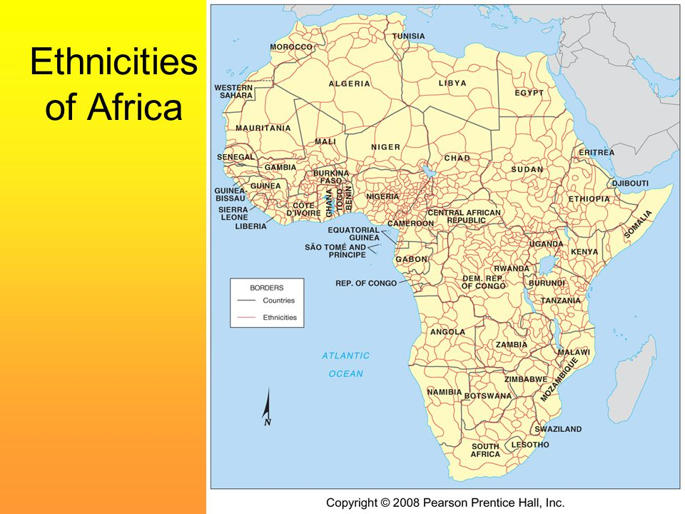 Ethnicities of Africa