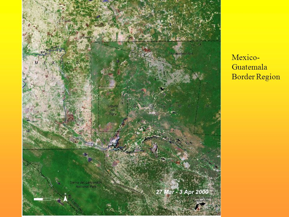 Mexico-Guatemala Border Region