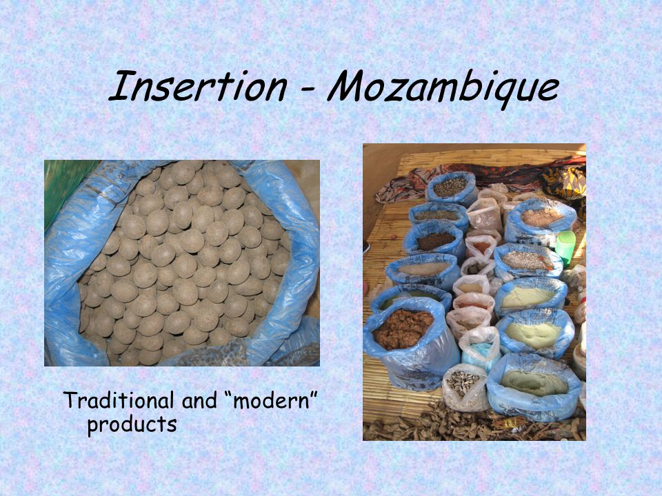Insertion - Mozambique