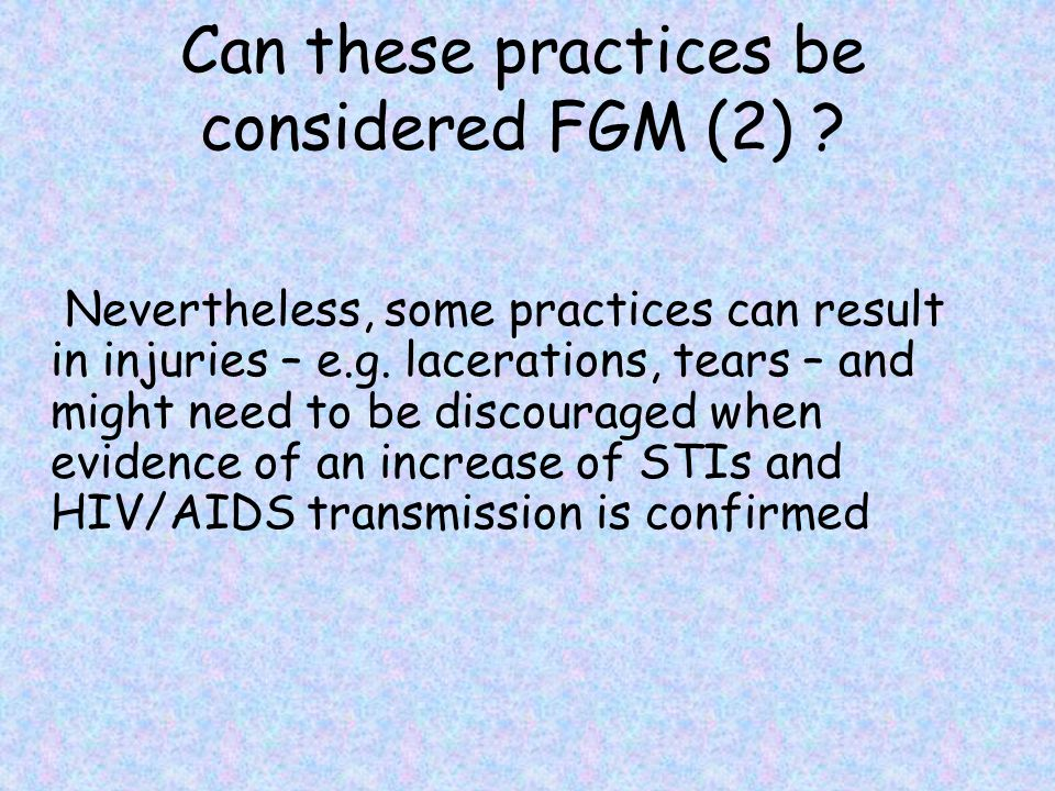 Can these practices be considered FGM (2)