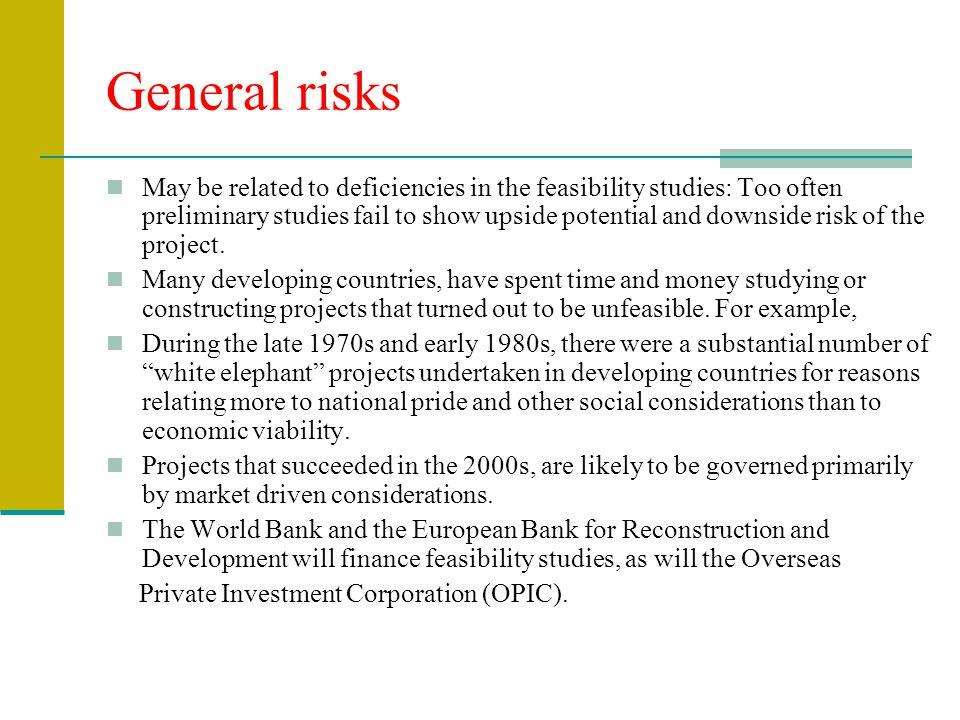General risks
