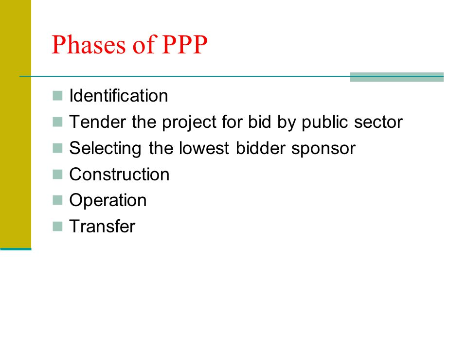 Phases of PPP Identification