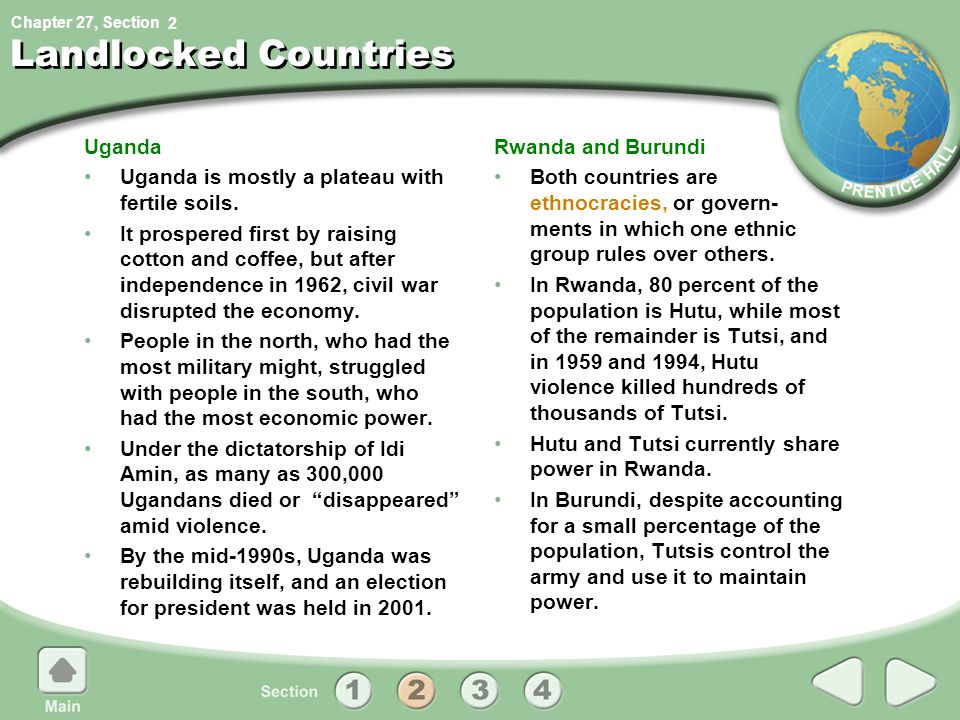 Landlocked Countries Uganda