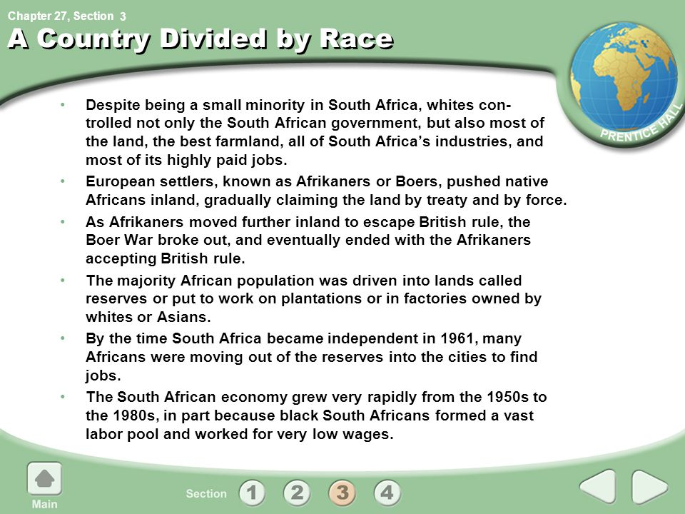 A Country Divided by Race