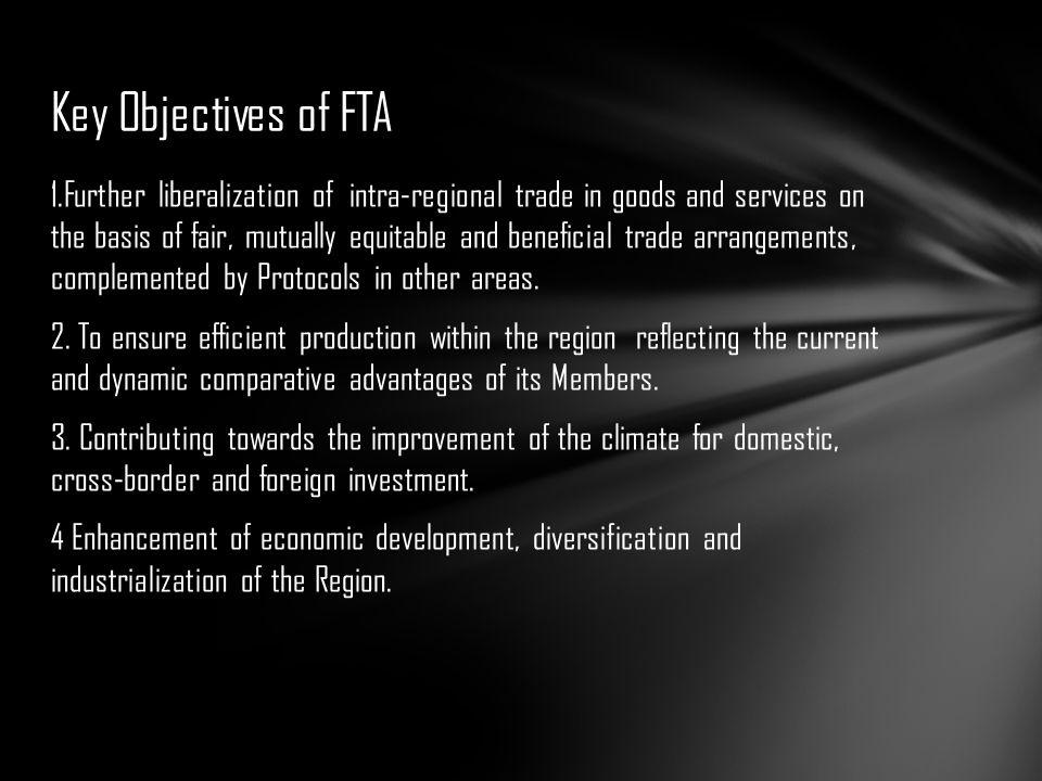 Key Objectives of FTA