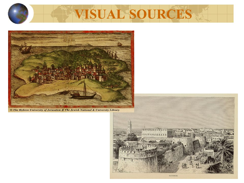 VISUAL SOURCES