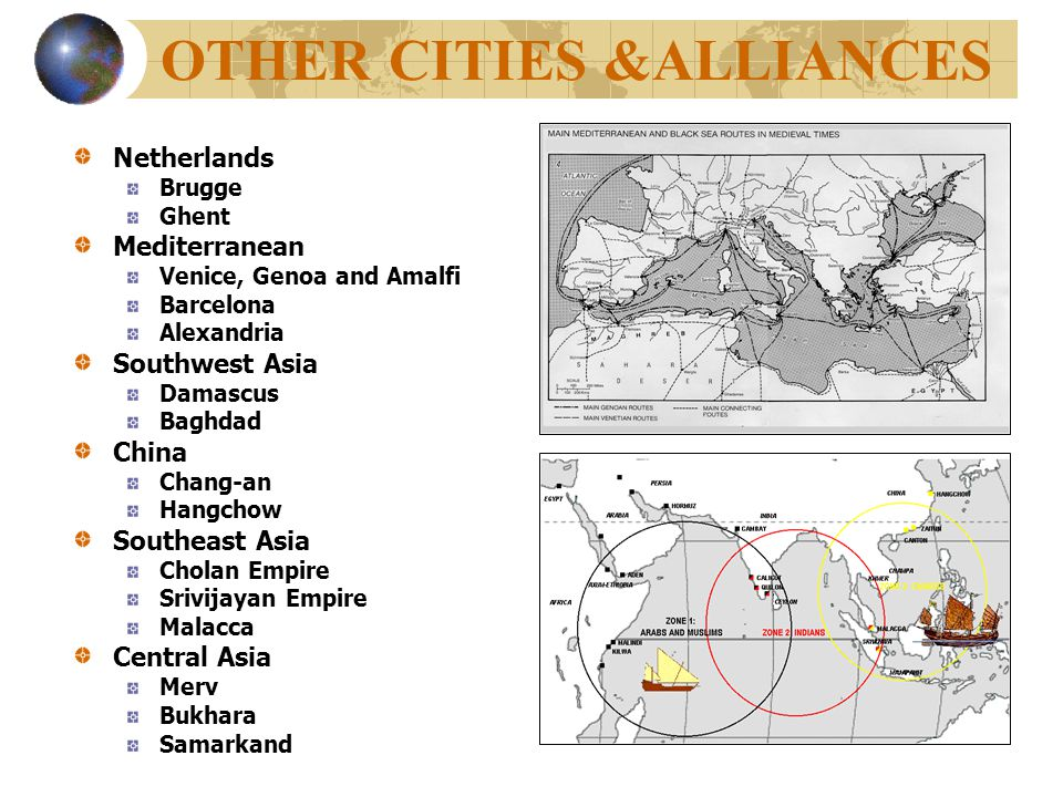 OTHER CITIES &ALLIANCES