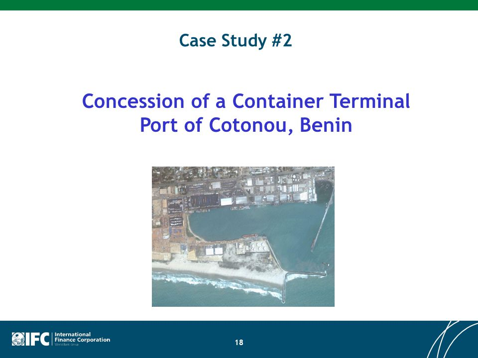 Concession of a Container Terminal Port of Cotonou, Benin