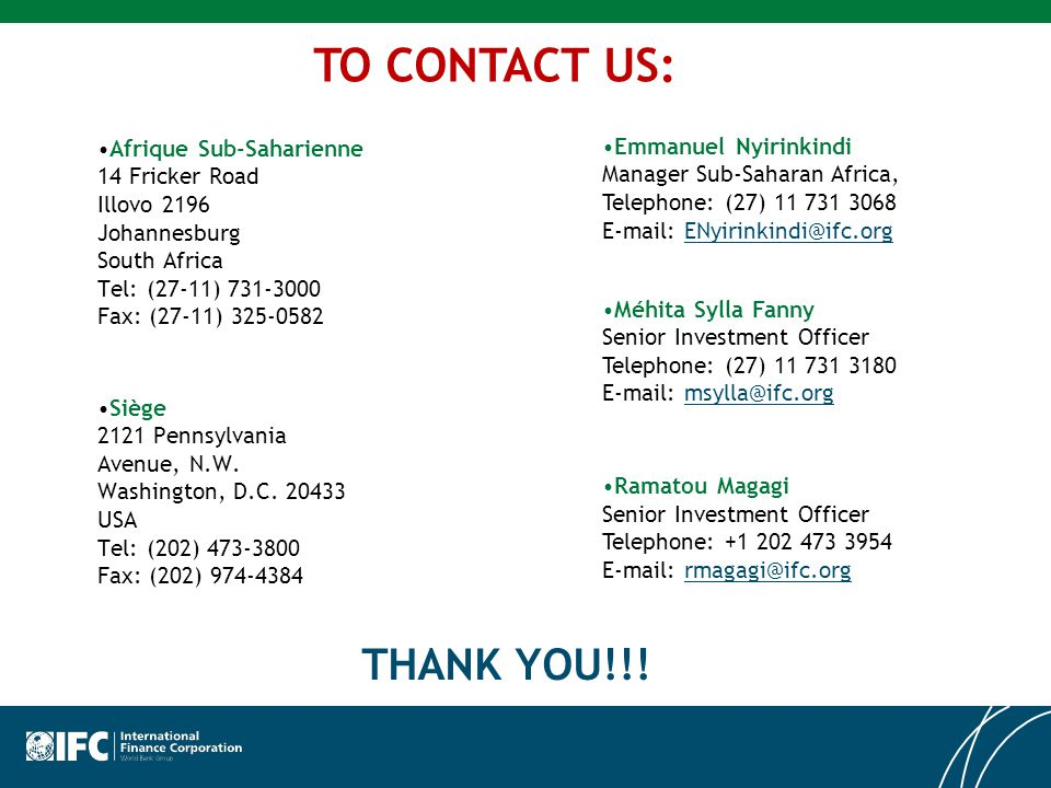 TO CONTACT US: THANK YOU!!!