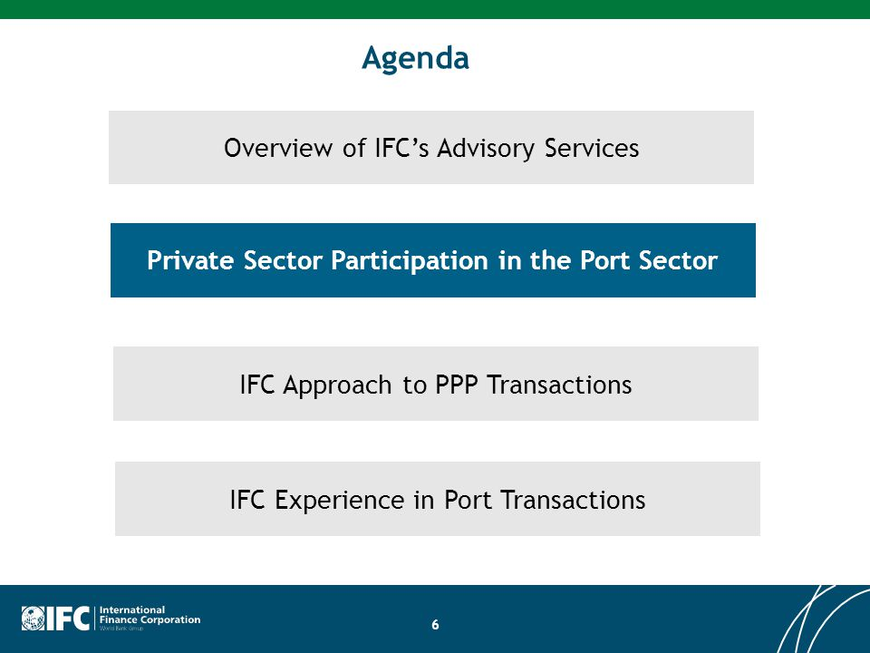 Private Sector Participation in the Port Sector