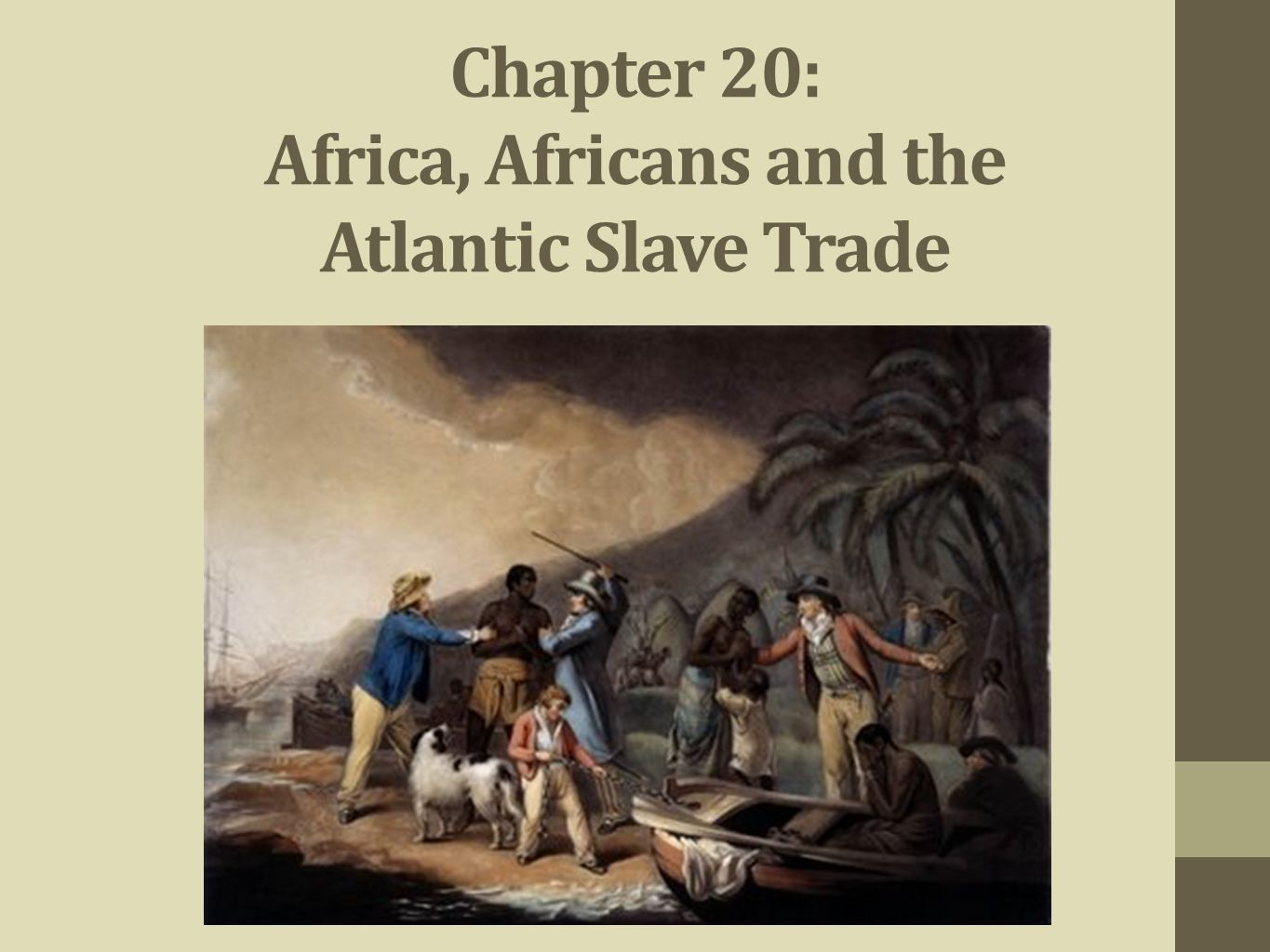 impact of slave trade on africa and africans history essay This essay explores the creation of an atlantic economy based on the slave trade, its effects on african trade with africa and between africa and the.