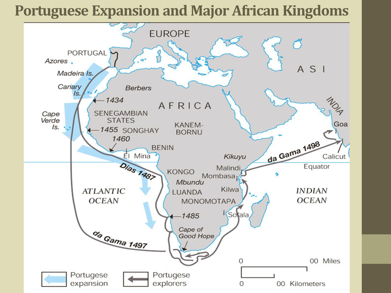 Portuguese Expansion and Major African Kingdoms