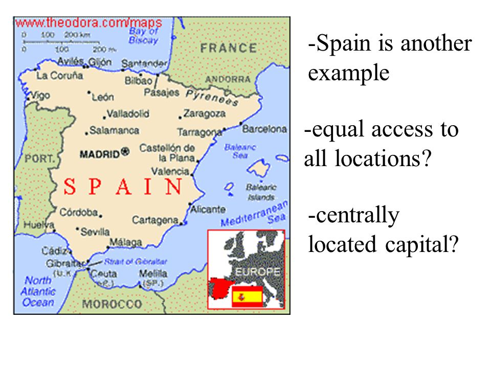 -Spain is another example