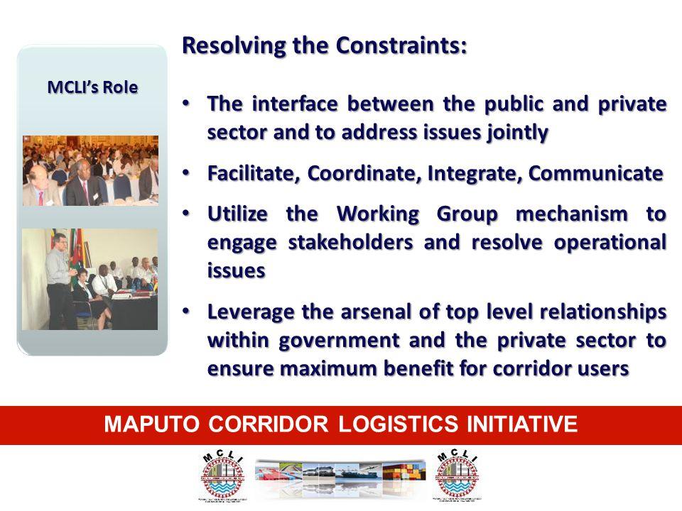 MAPUTO CORRIDOR LOGISTICS INITIATIVE
