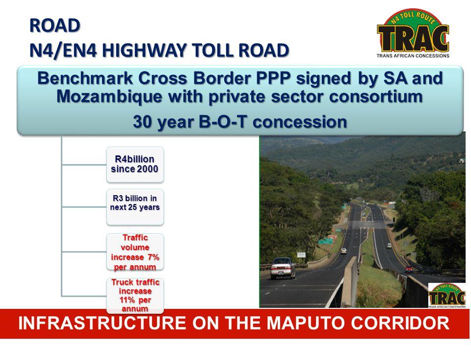 ROAD N4/EN4 HIGHWAY TOLL ROAD INFRASTRUCTURE ON THE MAPUTO CORRIDOR