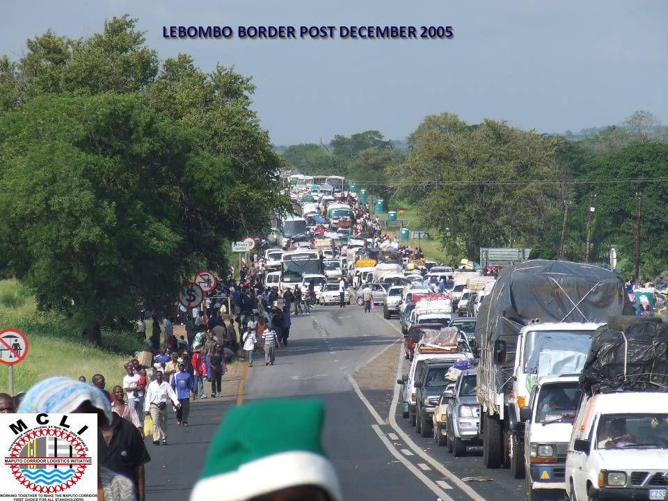 LEBOMBO BORDER POST DECEMBER 2005