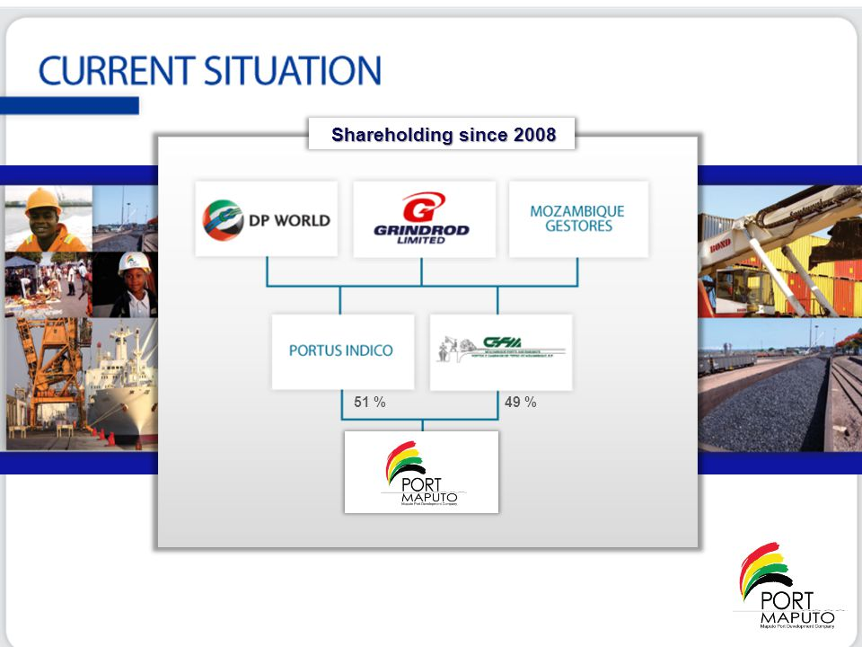 Shareholding since 2008 51 % 49 %