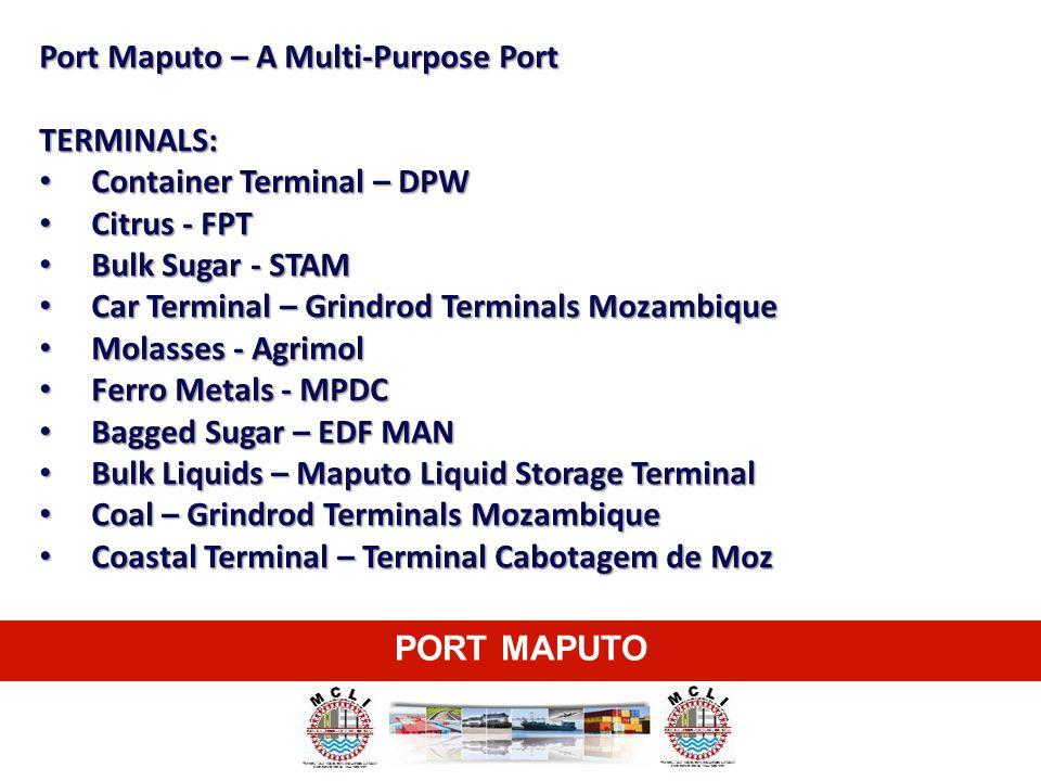 Port Maputo – A Multi-Purpose Port
