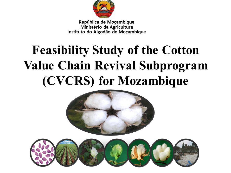 Ministério da Agricultura Instituto do Algodão de Moçambique