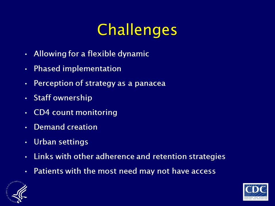 Challenges Allowing for a flexible dynamic Phased implementation