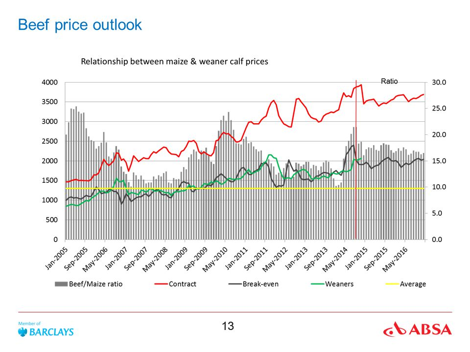 Beef price outlook