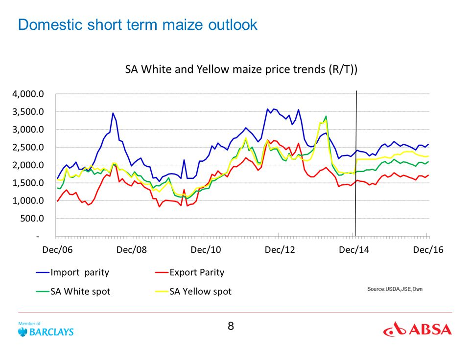 Domestic short term maize outlook