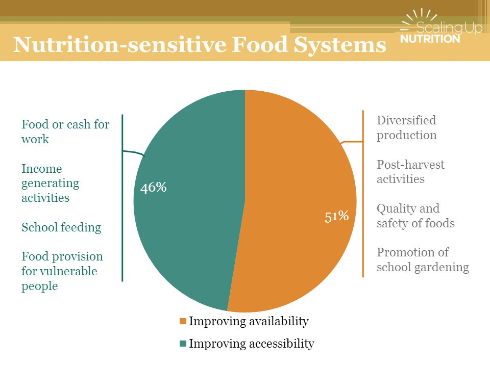 Nutrition-sensitive Food Systems