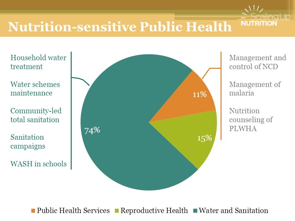 Nutrition-sensitive Public Health
