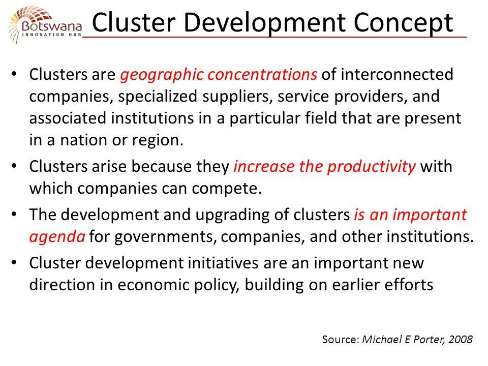 Cluster Development Concept