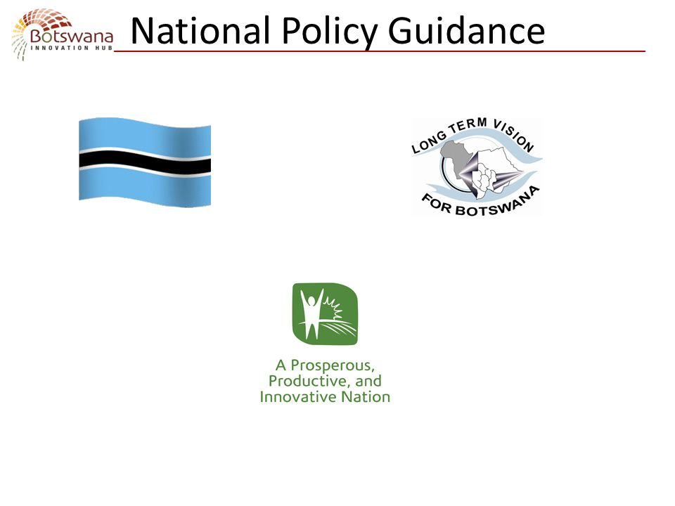 National Policy Guidance