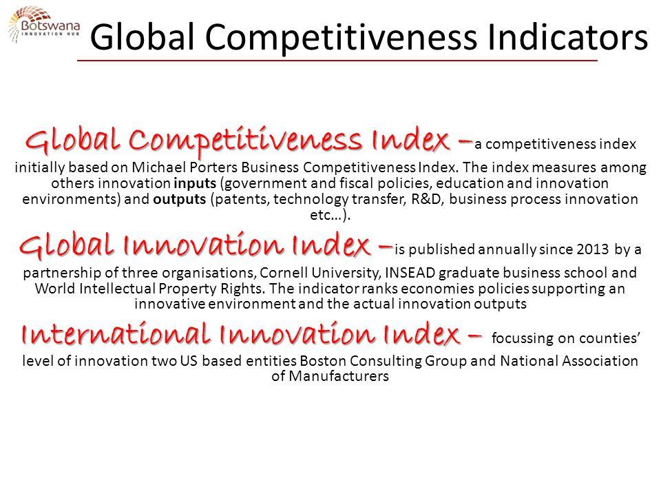 Global Competitiveness Indicators