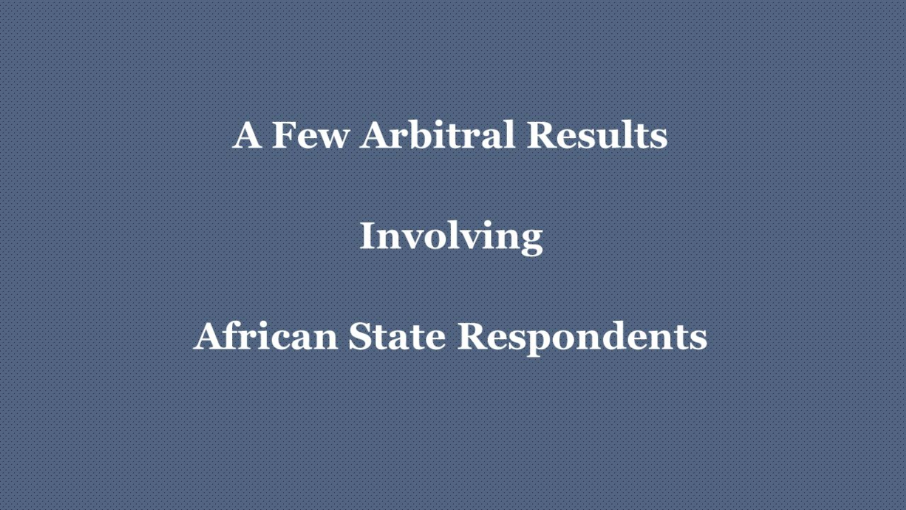 African State Respondents
