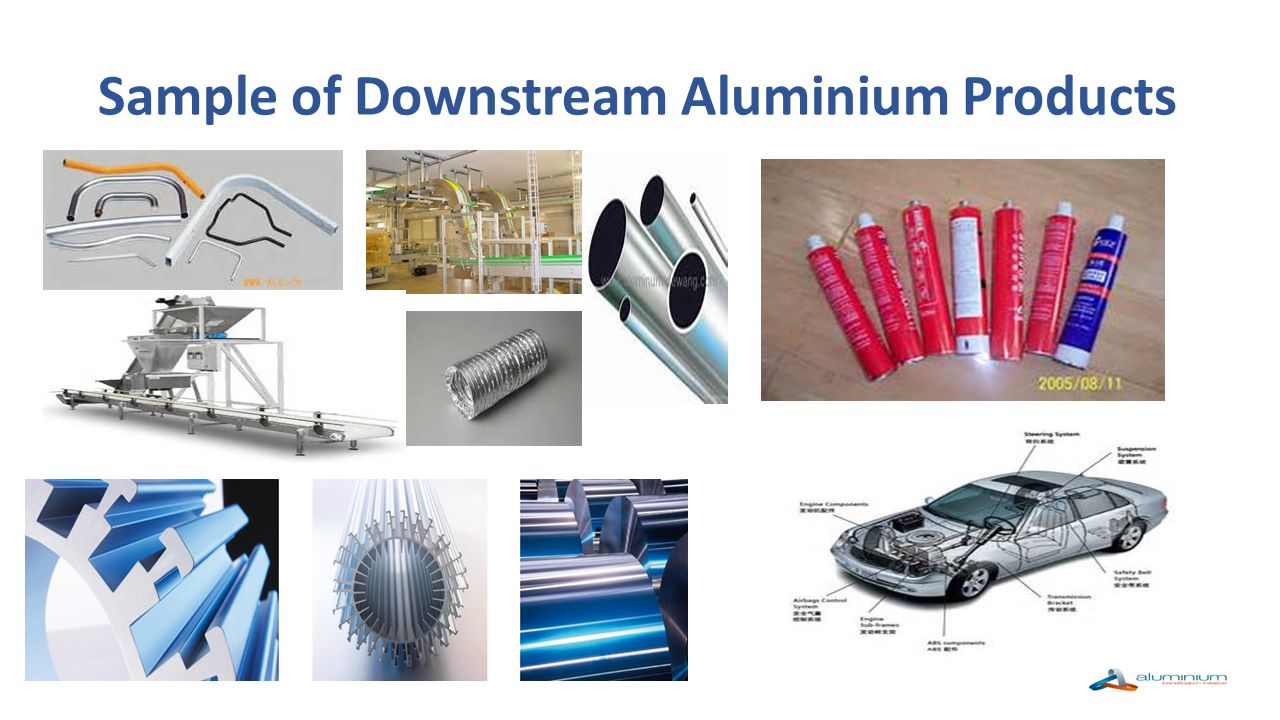 Sample of Downstream Aluminium Products