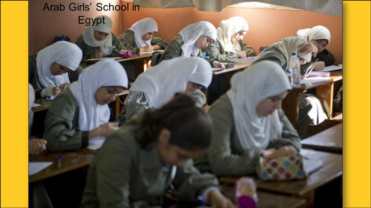 Arab Girls' School in Egypt