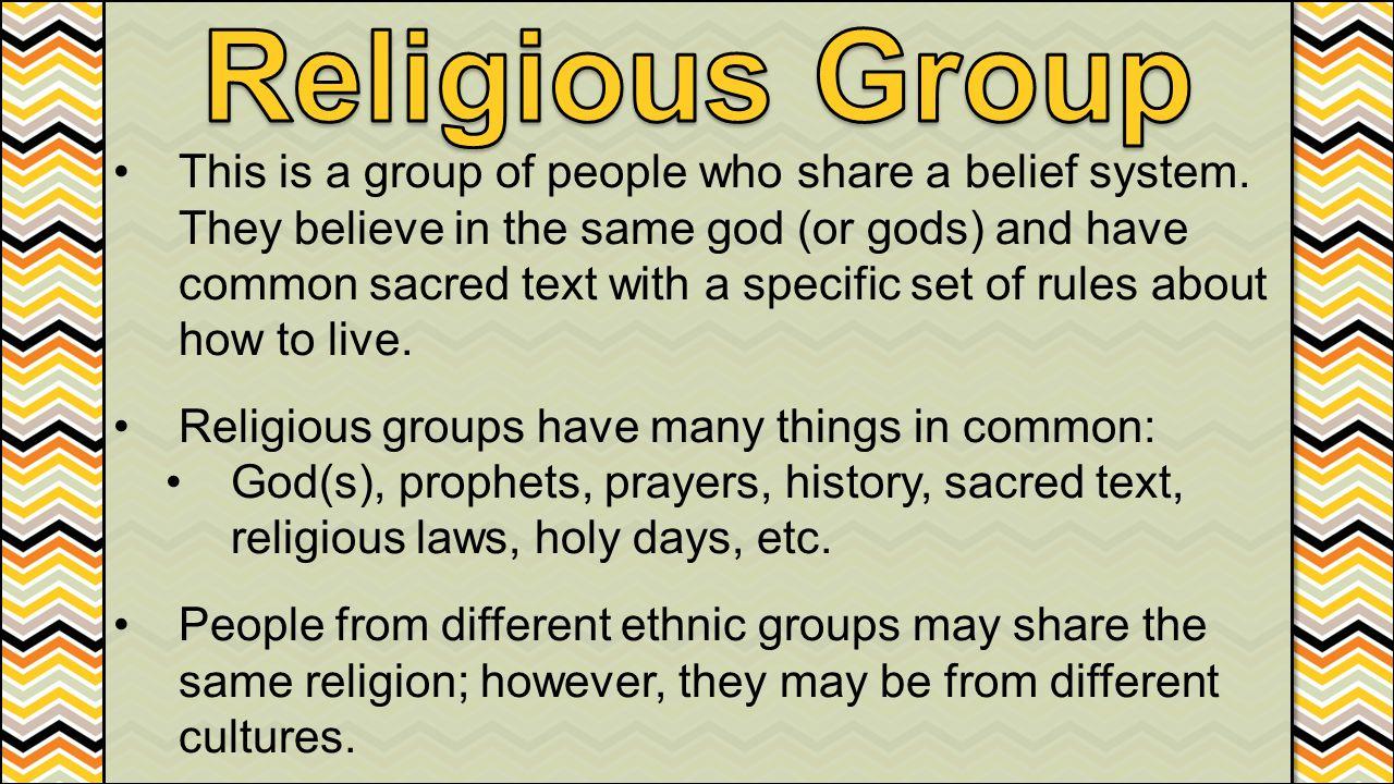 Religious Group