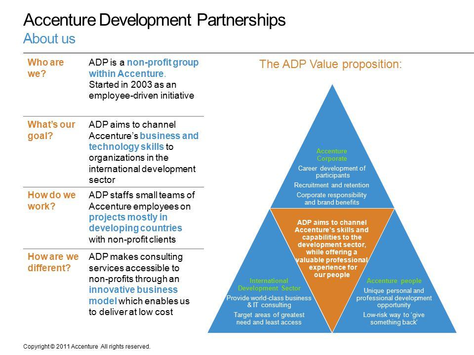 Accenture Development Partnerships About us