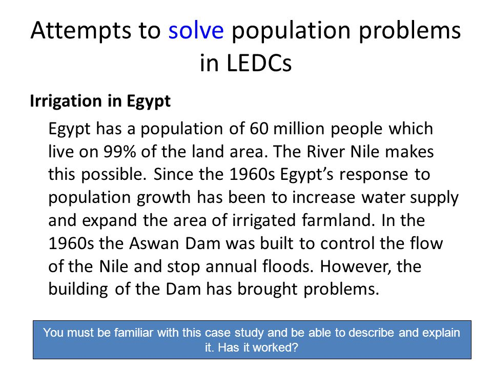 How To Solve Population Growth Problems