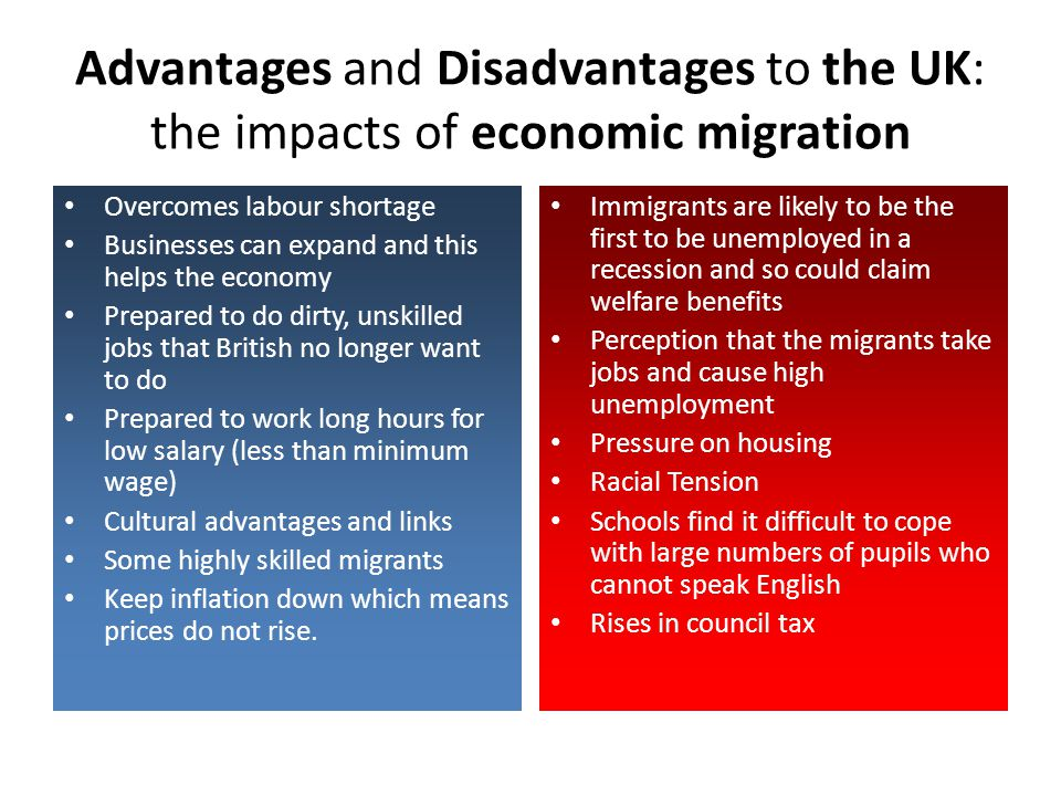 advantages and disadvantages of workers remittances economics essay Brazil: restoring economic growth through brazil: restoring economic growth through economic of brazilian workers and expand the range of.
