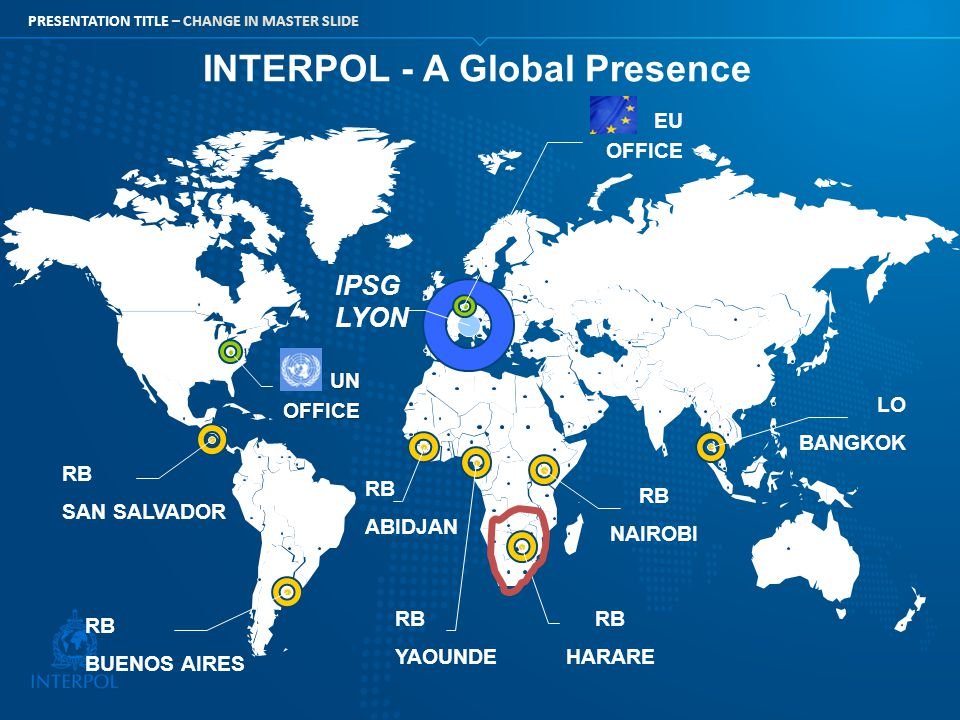 INTERPOL - A Global Presence