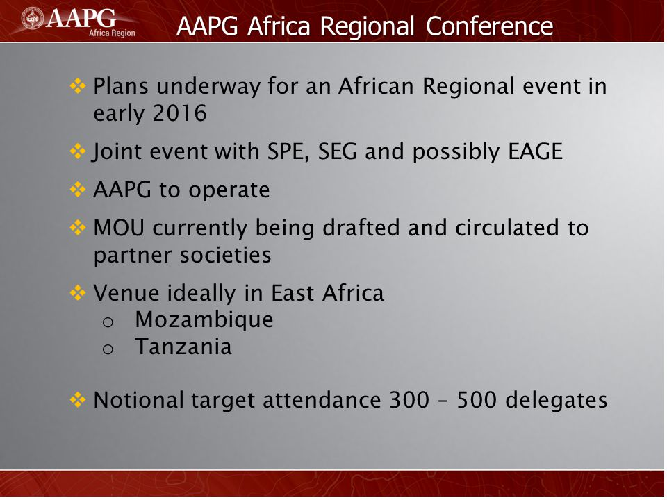AAPG Africa Regional Conference