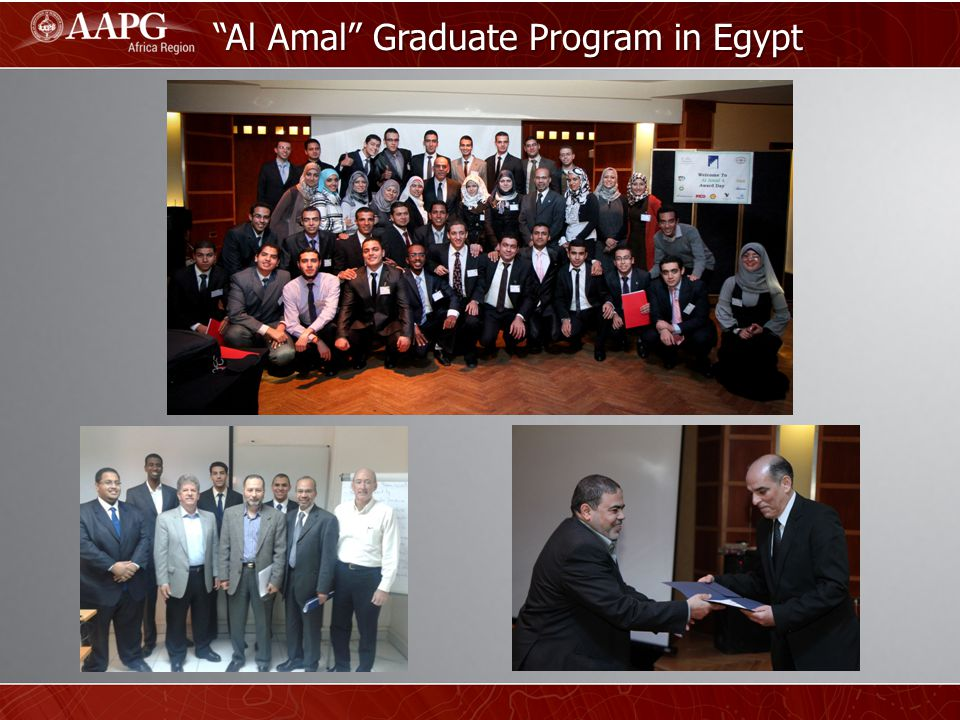 Al Amal Graduate Program in Egypt