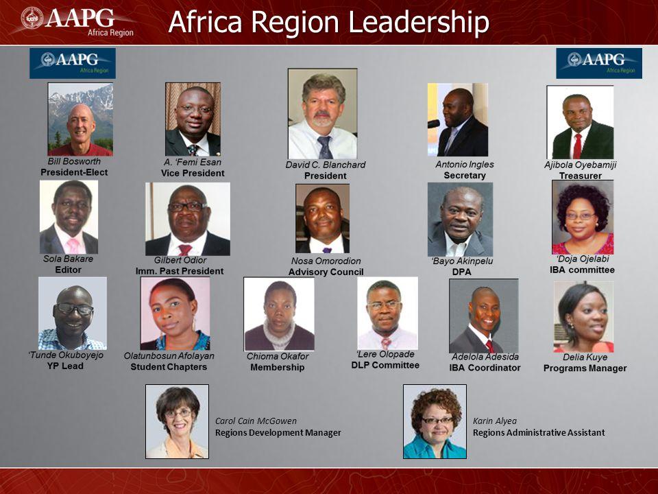 Africa Region Leadership